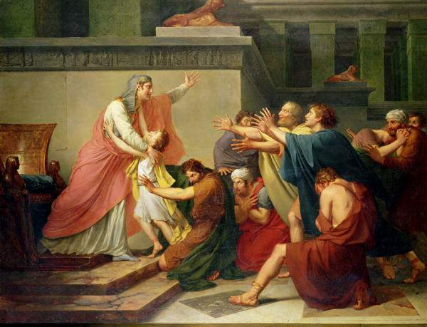 Франсуа Жерар. Иосифа признают братья
